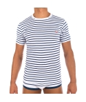 Slip rayé - navy/light blue