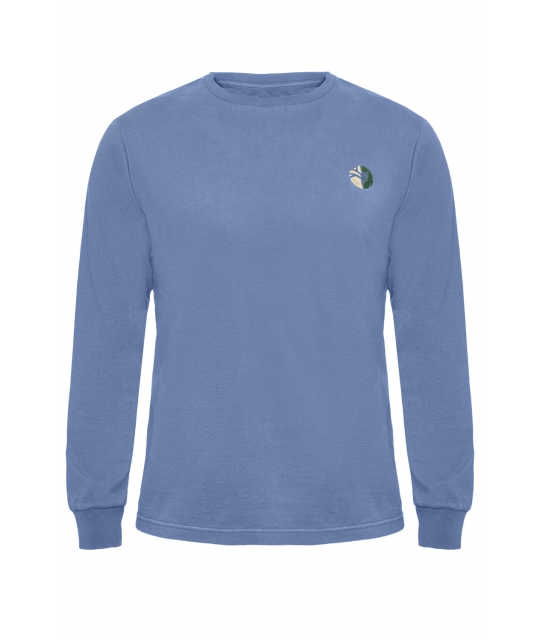 T-Shirt Kilimanjaro bleu