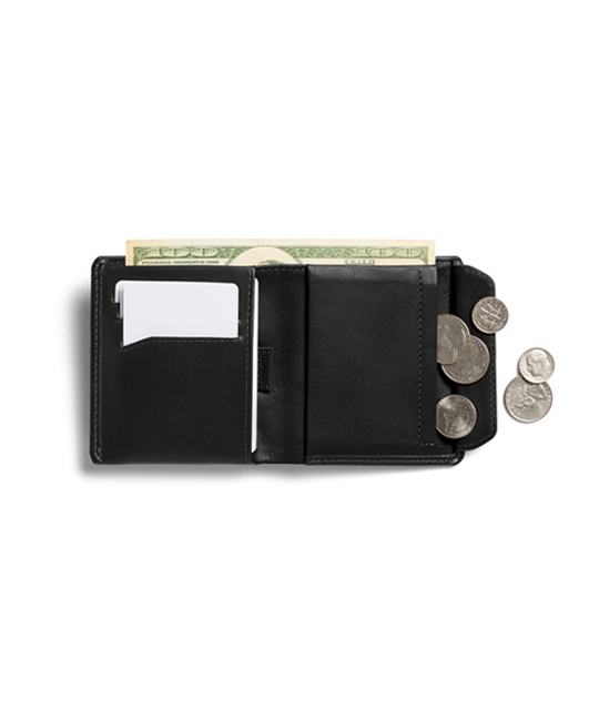 Portefeuille Coin Wallet - Black