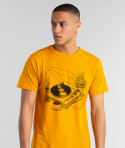 T-Shirt Stockholm Local Planet Burgundy