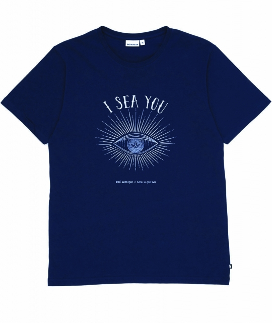 T-Shirt I sea you - Marine