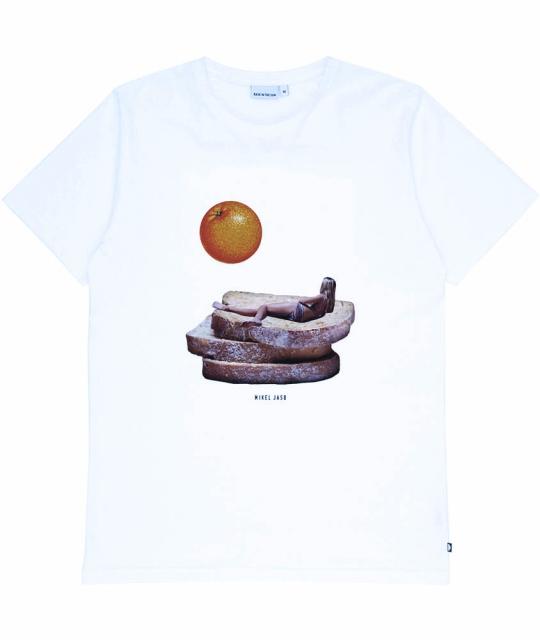 T-Shirt Petit Dej - Blanc