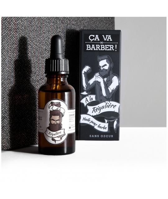 Huile pour barbe A la Régulière - Ca va Barber