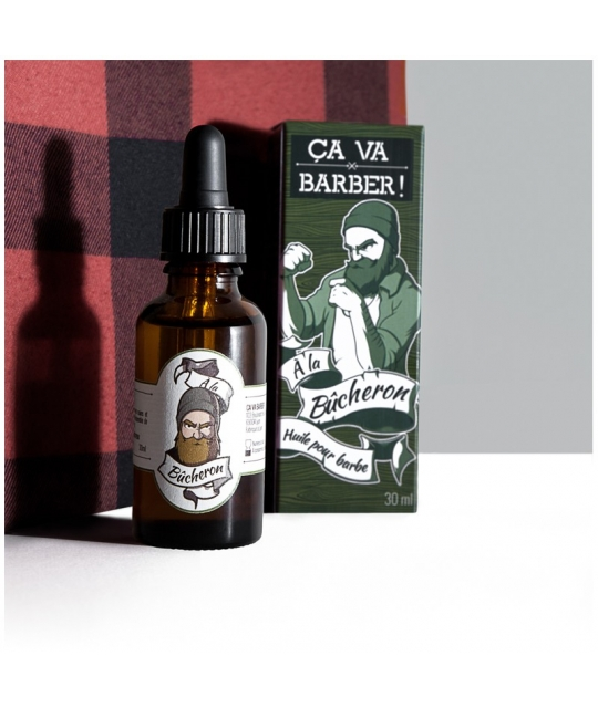 Huile pour barbe Bucheron - Ca va Barber