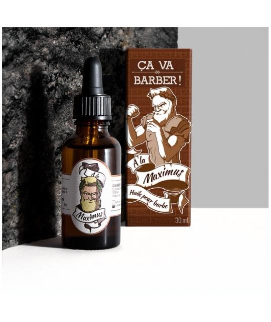Huile pour barbe Maximus - Ca va Barber
