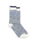 Chaussettes Athletic Socks - Blanc/Rayé Bleu