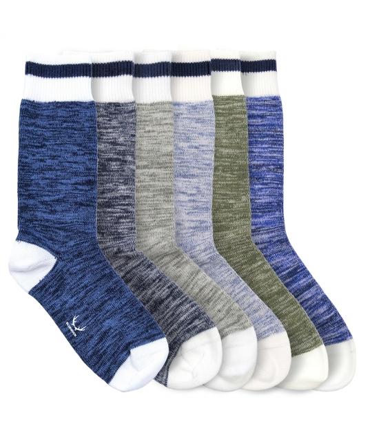 Pack de 6 paires de chaussettes Nautical