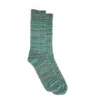 Chaussettes 5 fils (vert, gris et turquoise)